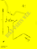 GUIDON SUSPENSIONS/FREINAGE/ROUES 750 suzuki-moto KINGQUAD 2008 DP045371